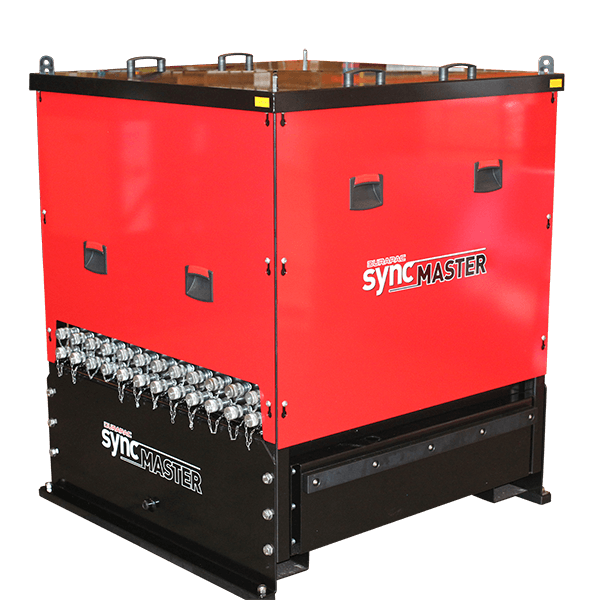 Syncmaster with covers on angle